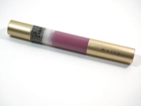 Mally High Shine Liquid Lipstick in Orchid via @beautifulmakeup