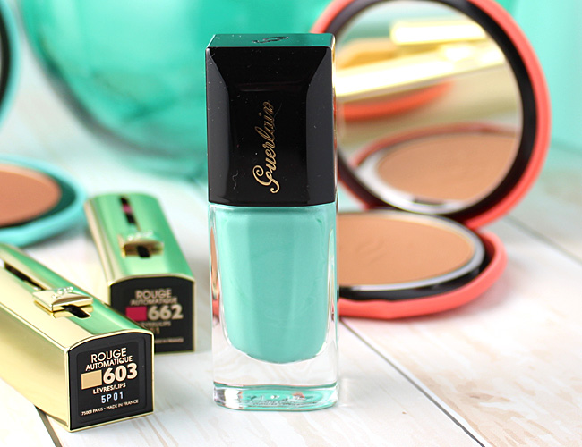 Guerlain Summer 2015 Makeup Collection: Blue Ocean Nail Lacquer