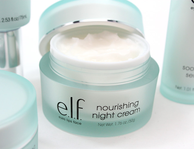 e.l.f. Skincare Collection: Nourishing Night Cream