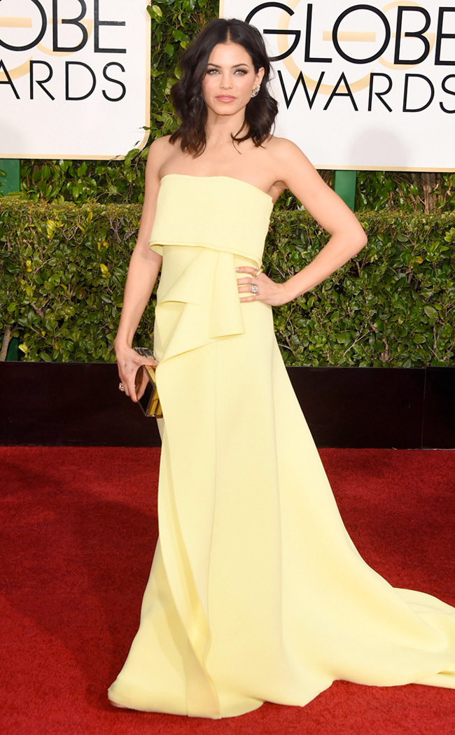 Get the Look: Jenna Dewan Tatum at the 2015 Golden Globe Awards