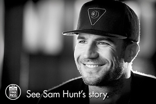 Sam Hunt for AXE