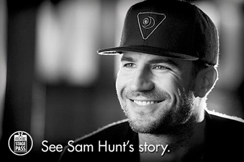 Sam Hunt for AXE