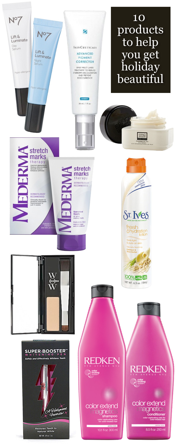 10 Products to Help You Get Holiday Beautiful