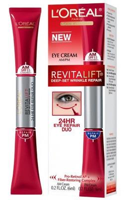 L'Oreal Paris RevitaLift Deep-Set Wrinkle Repair Eye Cream ...