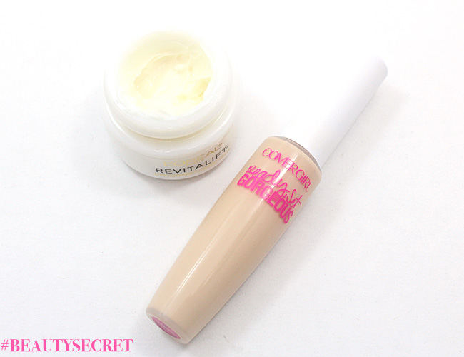 Beauty Secret: Mix concealer + eye cream