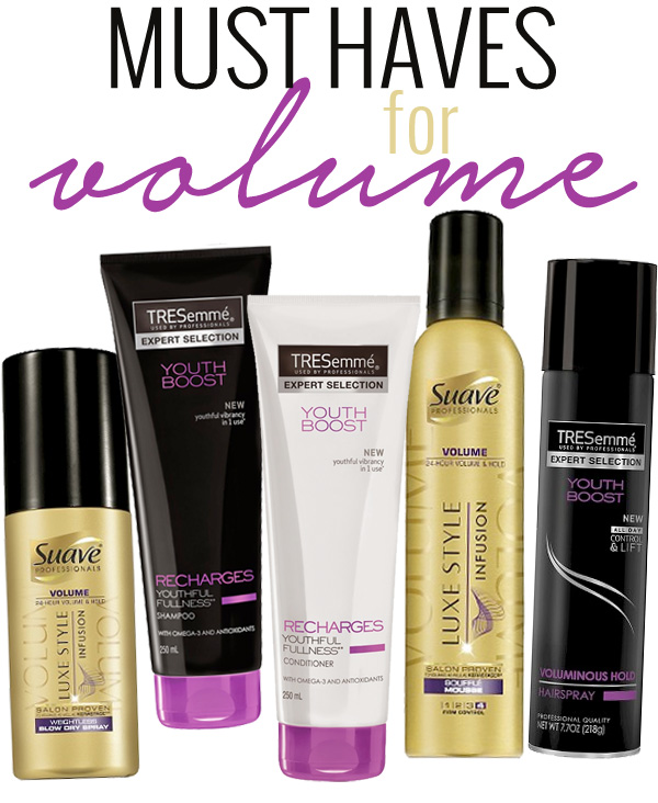 Must Have Hair Products for Volume