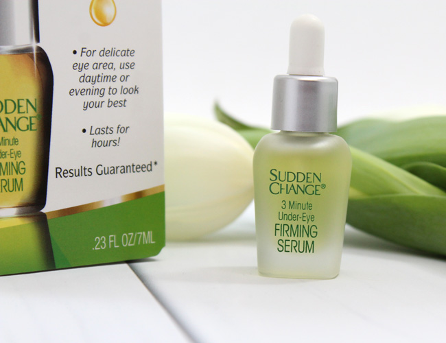 Sudden Change Under-Eye Firming Serum Review
