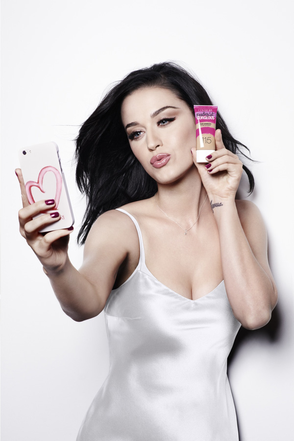 Get the Look: Katy Perry instaGLAM Selfie
