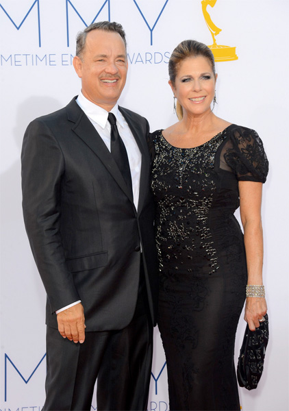 Rita Wilson 2012 Emmy Awards
