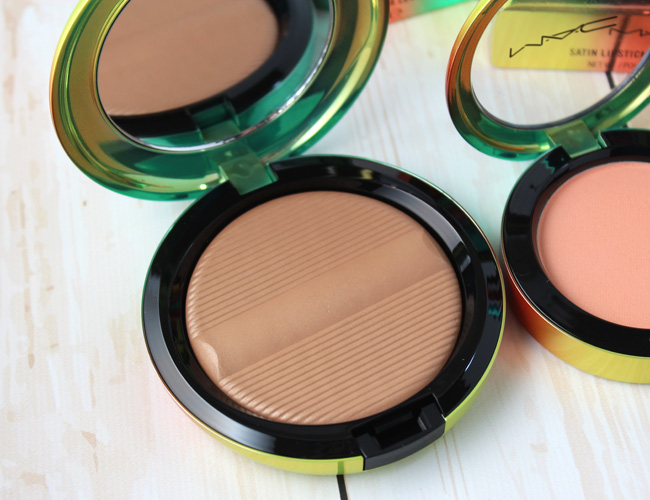 MAC Wash & Dry Summer Makeup Collection: Studio Sculpt Defining Bronzing Powder Delicates