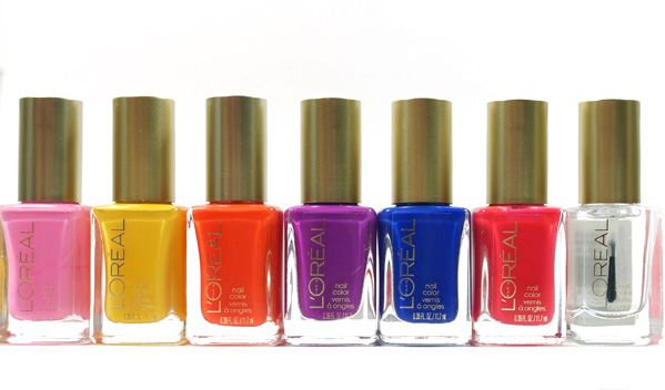 L'Oreal Paris Neon Colour Riche Nail Collection