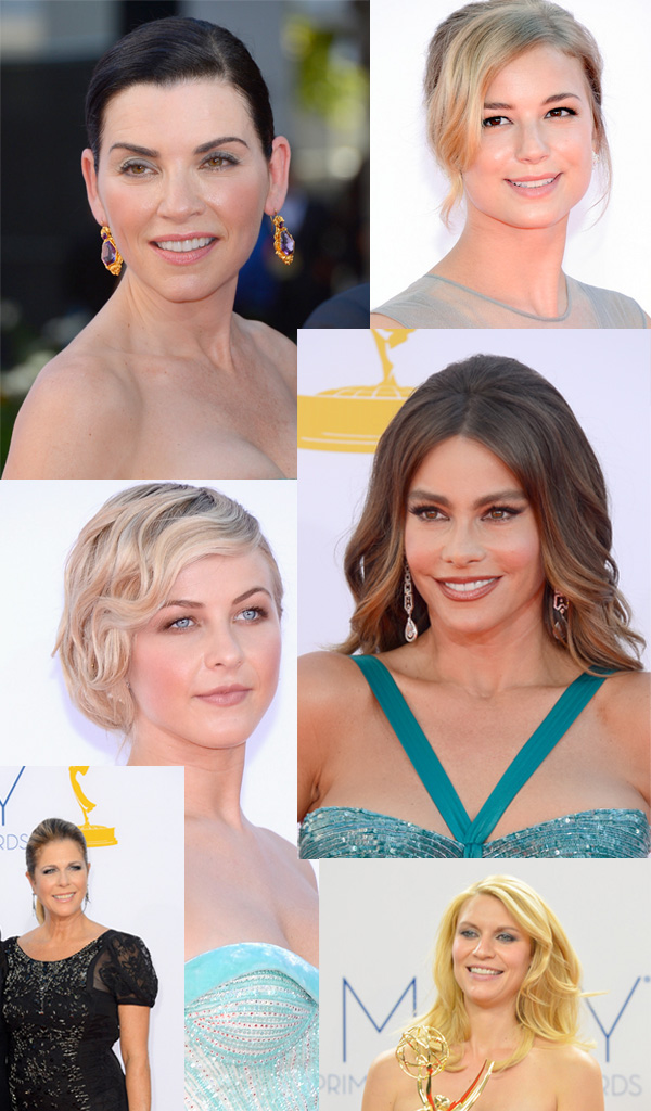 2012 Emmy Award Beauty Looks