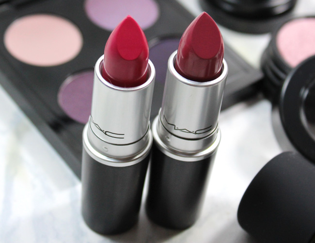 MAC A Novel Romance Collection: Lipstick Good Kisser, Yield to Love