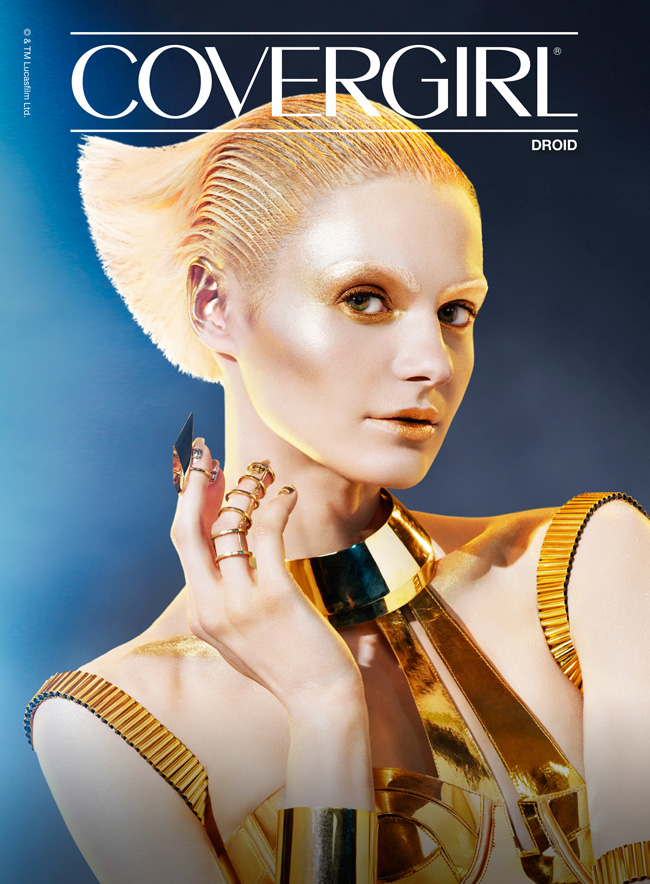 COVERGIRL Limited Edition Star Wars Collection: Droid Makeup Look