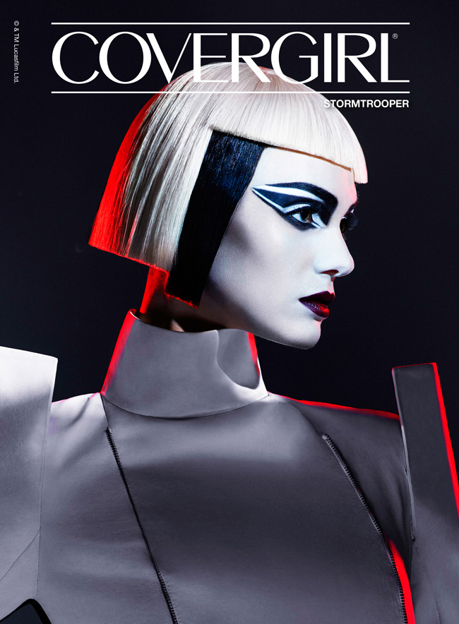 COVERGIRL Limited Edition Star Wars Collection: Stormtrooper Makeup Look