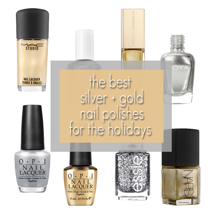 Best Silver + Gold Nail Polish