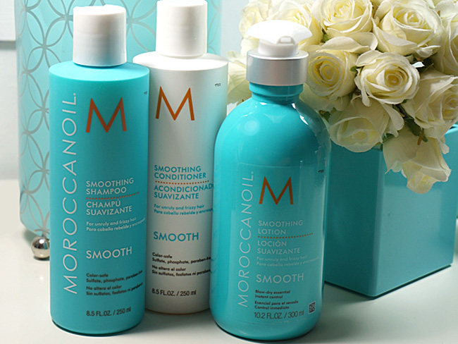 The Moroccanoil Smooth Collection