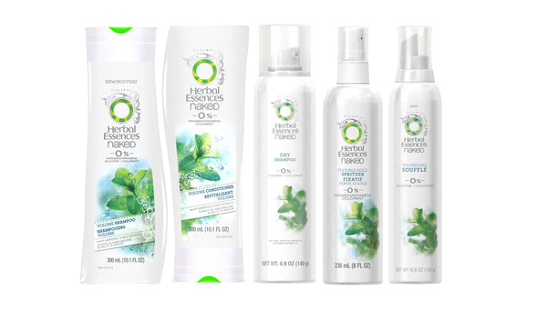Herbal Essences Naked Volume Collection