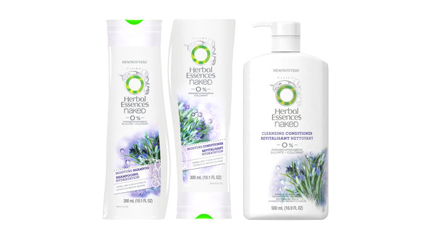 Herbal Essences Naked Moisture Collection