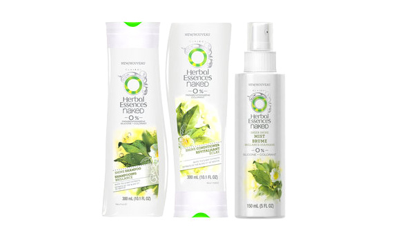Herbal Essences Naked Shine Collection