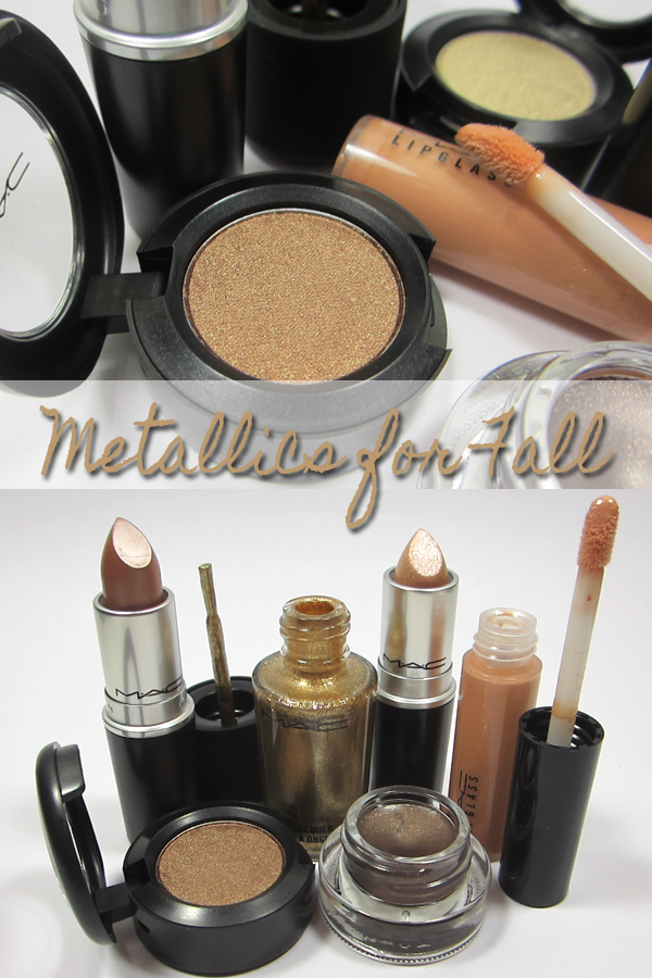 Metallic Makeup for Fall: Makeup from MAC.