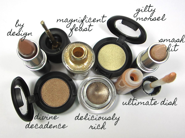Metallic Makeup for Fall from MAC.