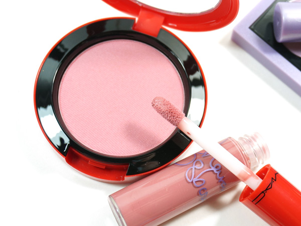 Must Haves from the MAC Osbournes Collection: Peaches & Cream Blush and Bijou Lipglass
