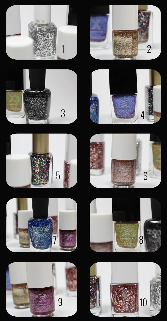 Top 10 Glitter Nail Polishes