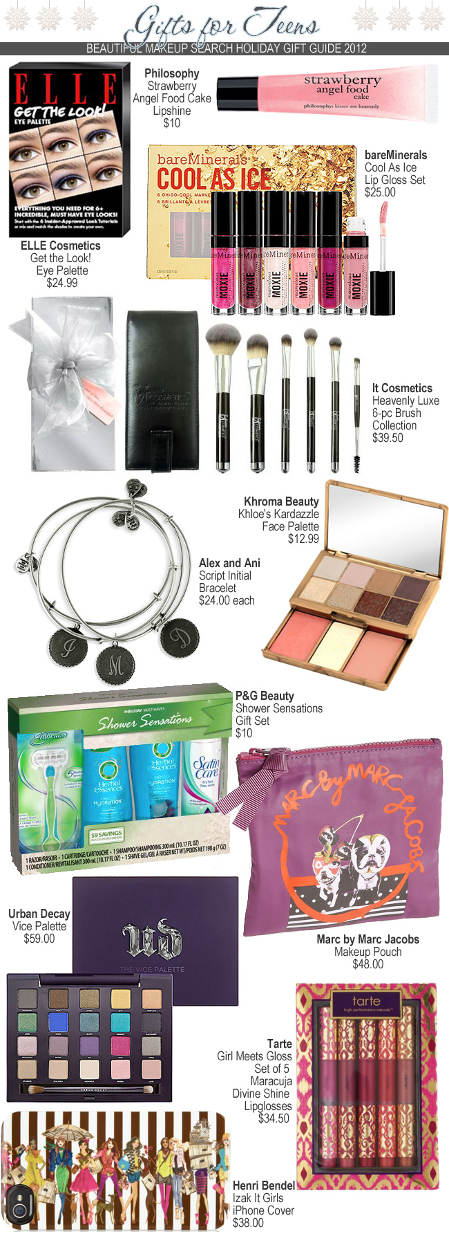 Holiday Gift Guide: Gifts for Teens. — Beautiful Makeup Search
