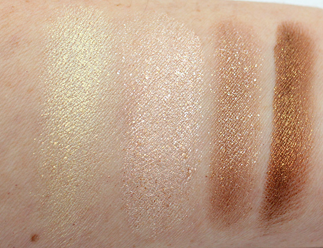 Milani Fierce Foil Eye Shines Milan Swatches