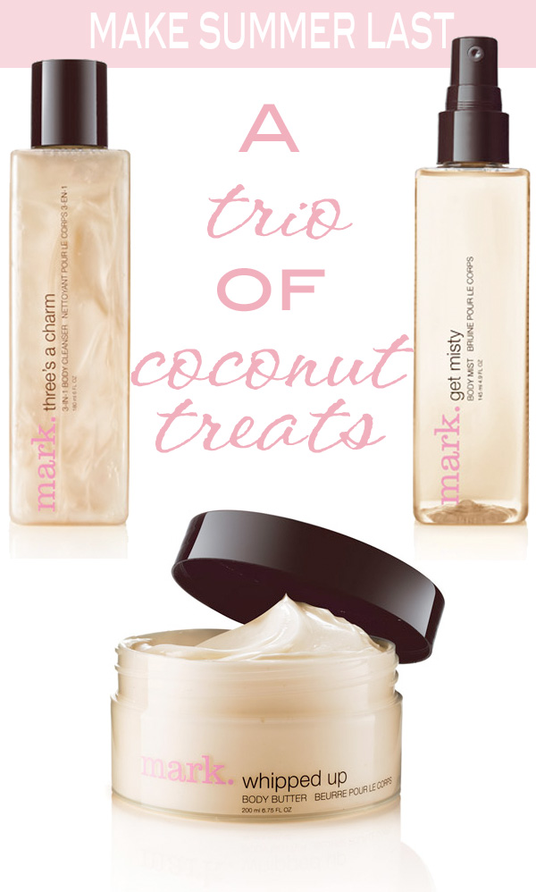 Making summer last with a trio of coconut treats | Beautiful Makeup Search