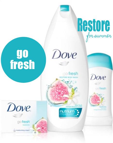Dove Go Fresh Restore Collection