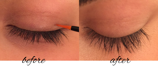 Infinite Lash Before and After