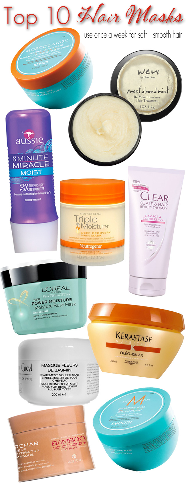 Top 10 Hair Masks Beautiful Makeup Search