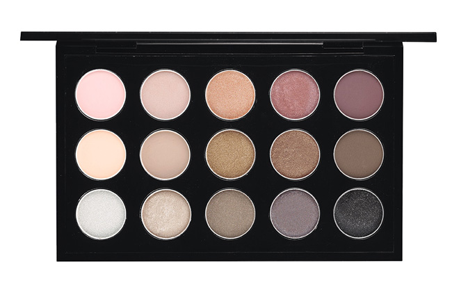 MAC Eye Shadow X 15 Cool Neutral Palette