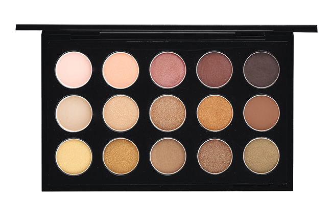 MAC Eye Shadow X 15 Warm Neutral Palette