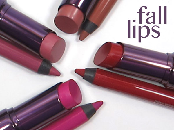 Fall Lips: Urban Decay Revolution Lipstick & 24/7 Glide-On Lip Pencil