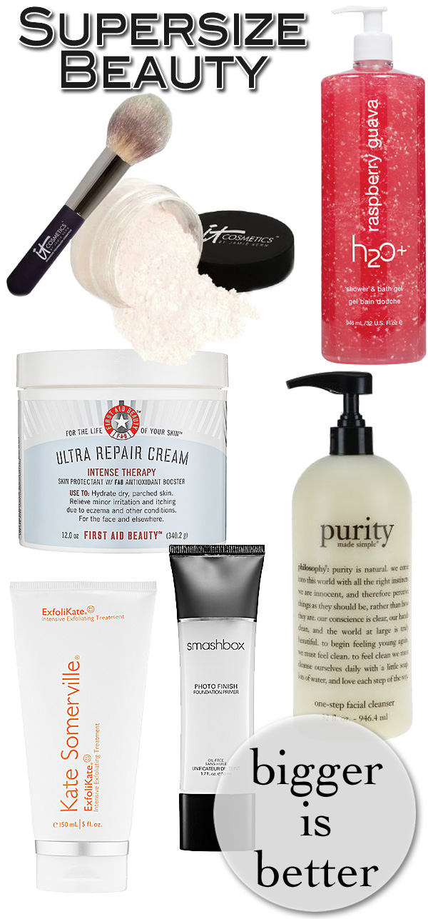 Bigger is Better: 6 Supersize Beauty Products to Buy Now