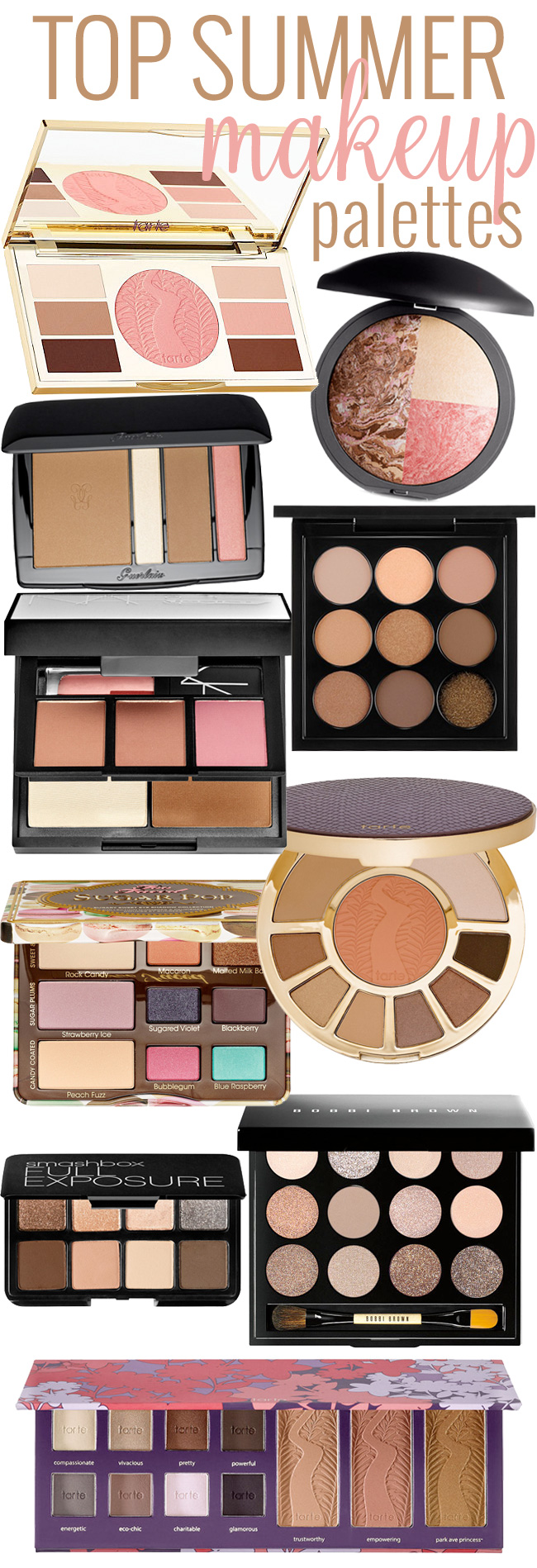 Top Summer Makeup Palettes