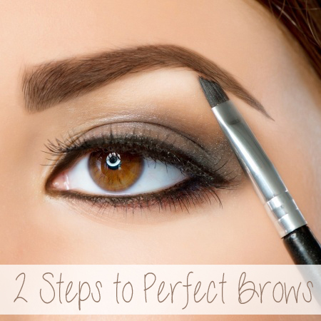 The 2 products and the 2 steps that will help you achieve perfect brows.