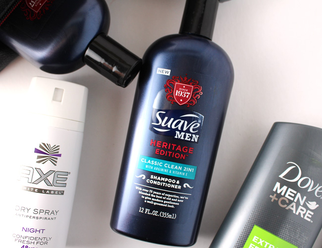Husband Approved Grooming Product: Suave Heritage Shampoo + Conditioner