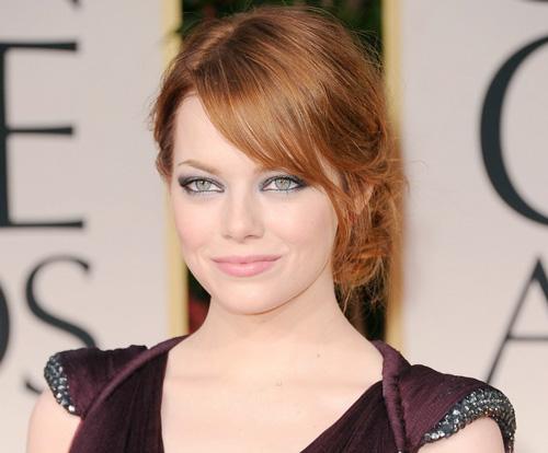 Golden Globes Beauty Emma Stone Beautiful Makeup Search