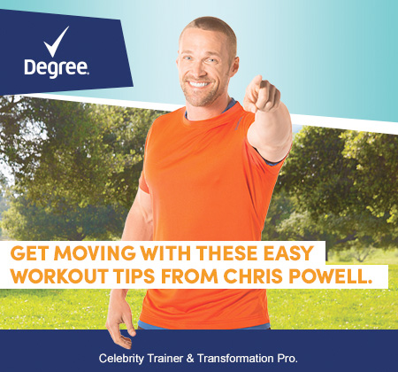 Chris Powell Exercise Tips
