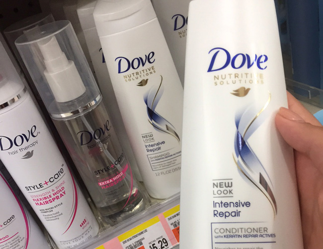 Save on Dove beauty products at Walgreens