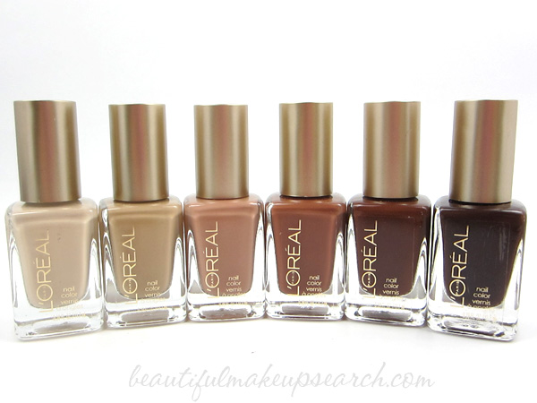 L'Oréal Paris New York Nudes Colour Riche Nail