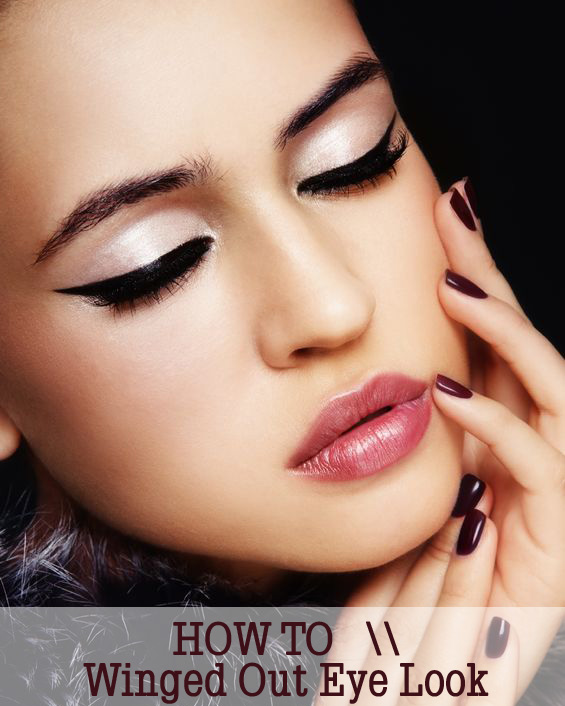 How To: Winged Out Eye Look