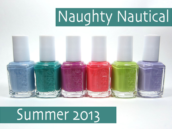 essie Naughty Nautical Collection