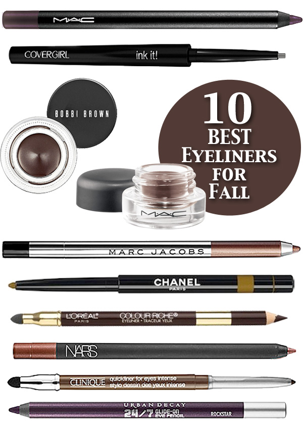 10 Best Eyeliners for Fall