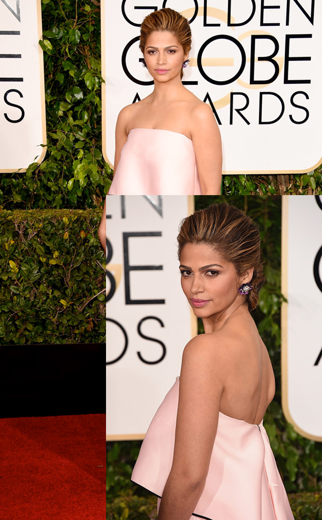 Get the Look: Camila Alves at the 2015 Golden Globes