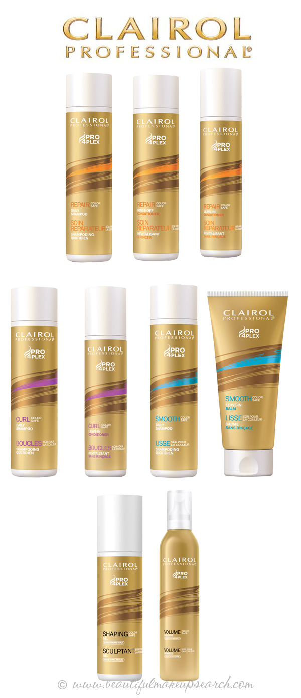 Clairol Professional Hair Care & Styling Line